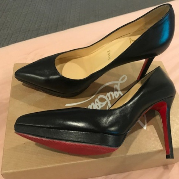 sports shoes ea273 843ce Christian Louboutin Pigalle Plato 100mm / 4in